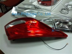Tail light by 3D printing