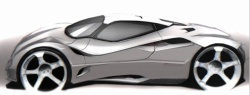 Car body design and automobile engineering